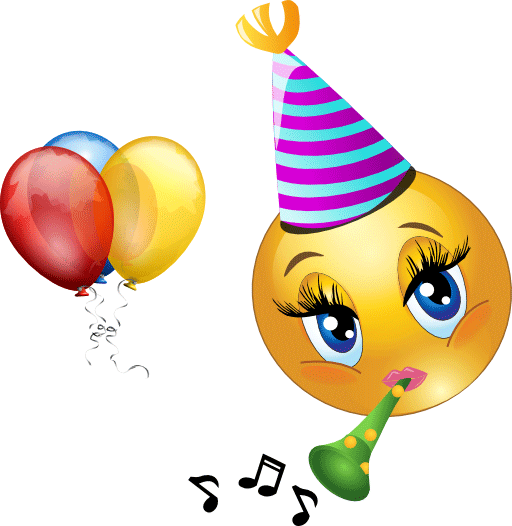 Celebration clipart emoji Celebrating Smiley Smiley Smiley Best