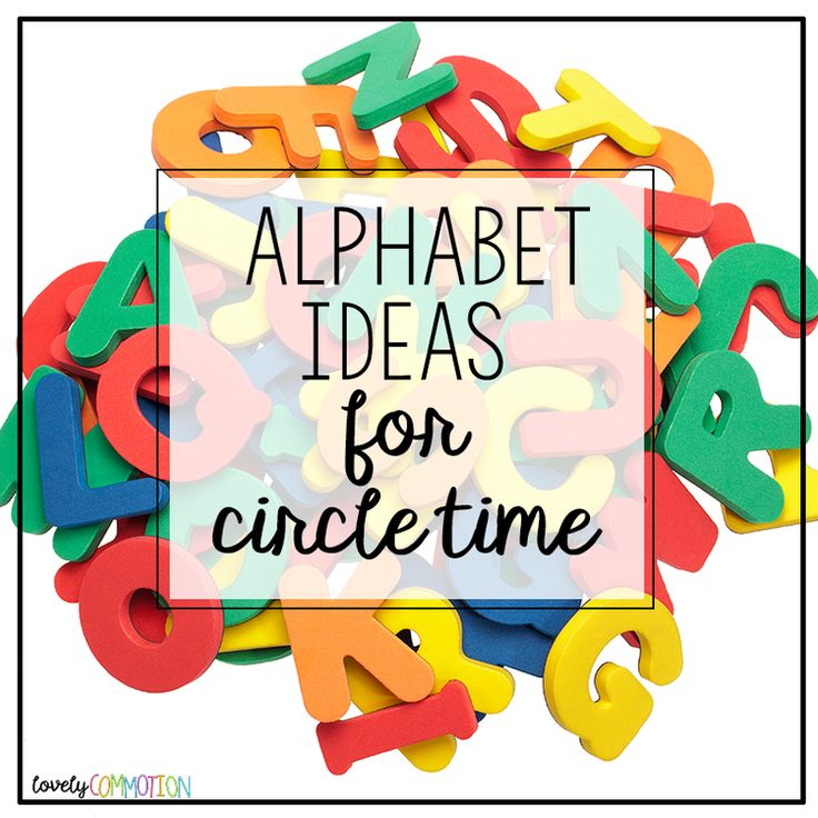 Fun Time clipart circle time On 25+ time Alphabet activities