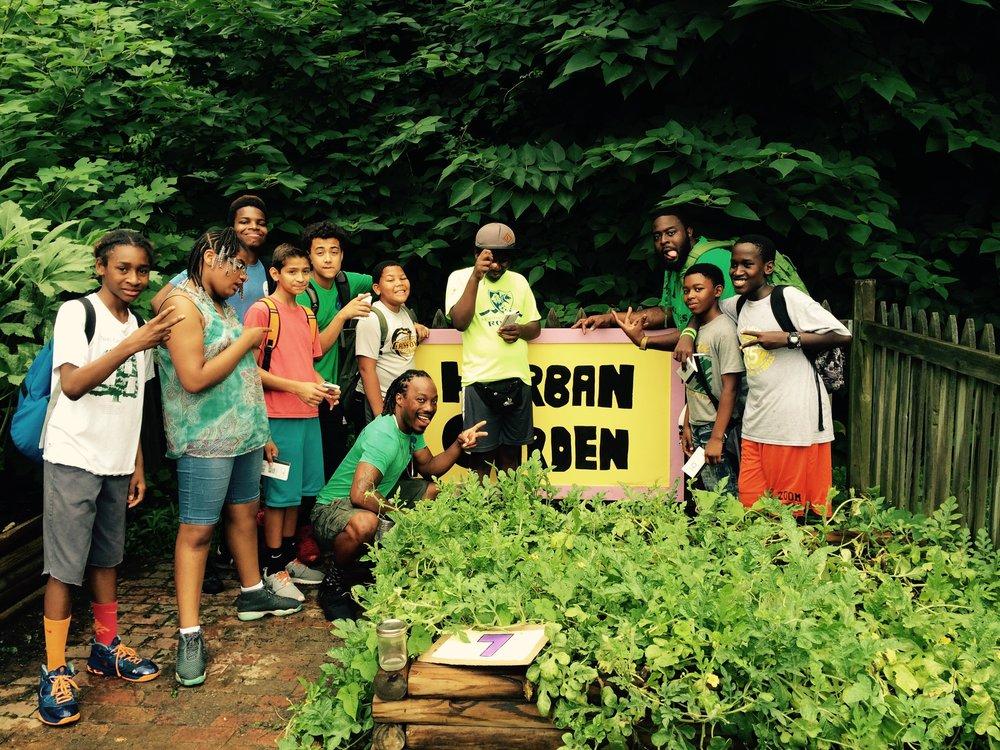 Fun Time clipart community garden Here! Internship Gardens our Herban