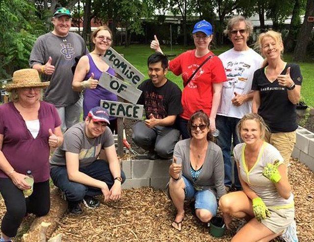 Fun Time clipart community garden Perspectives Transforming Garden Peace Promise