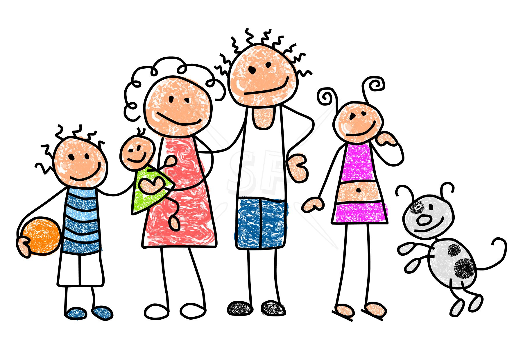 Travel clipart family time Clipart library Art Family Download