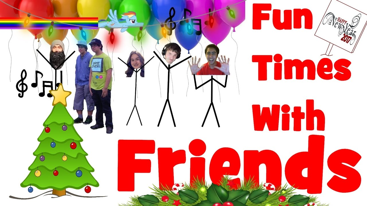 Fun Time clipart friendship Friends Special Fun With Holiday