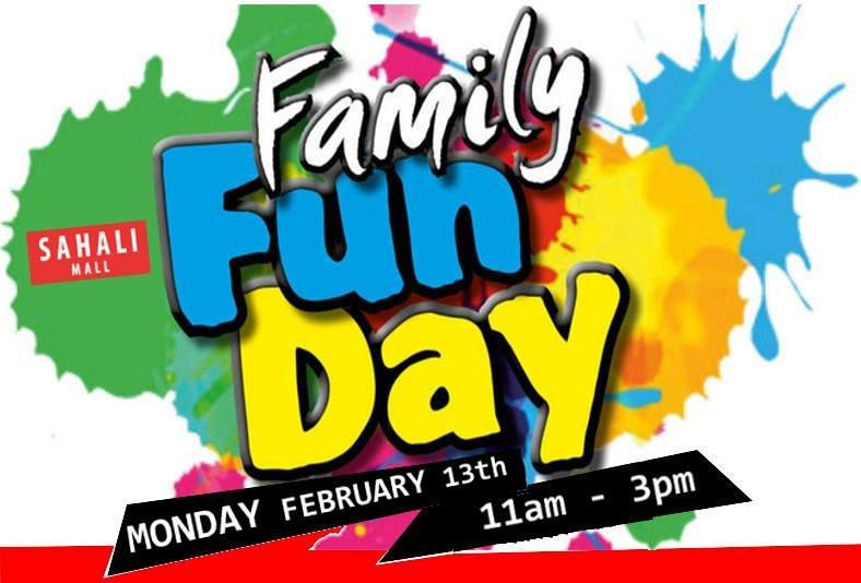 Fun clipart family fun day #3