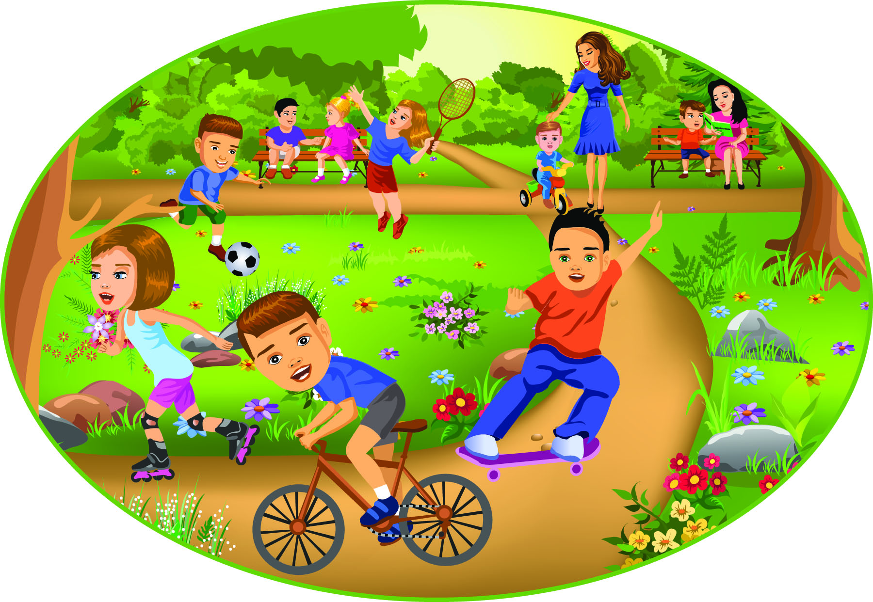Fun Time clipart fun day Camp! OK ZipCodeMagazines for Kids