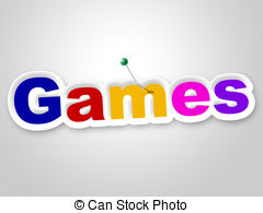 Fun clipart fun game Represents royalty Games Sign Illustrations