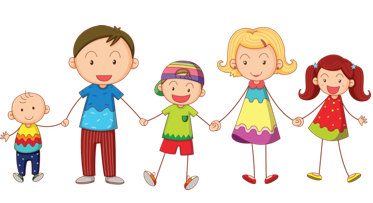 Fun Time clipart group child Time Together Children