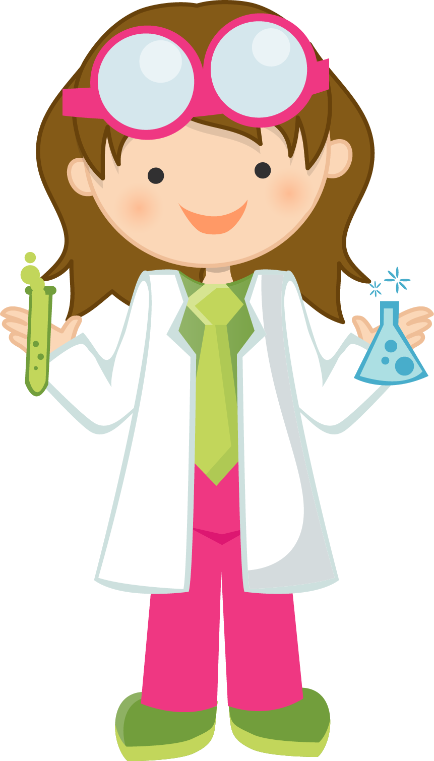 Woman clipart mad scientist #2