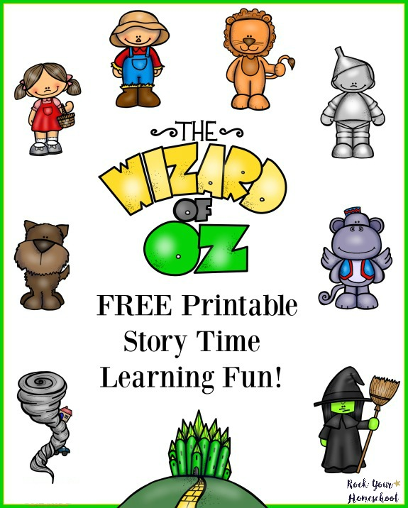 Fun Time clipart learning Pack printable for of Your