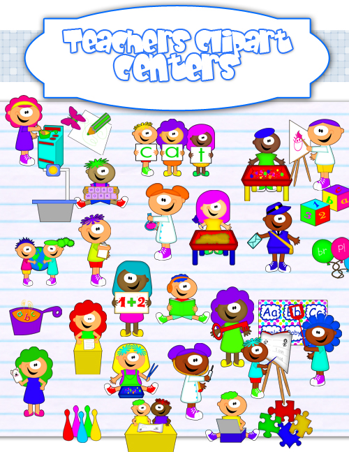 Fun Time clipart learning Fun Center Zone Clipart Learning
