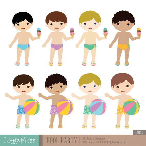 Fun Time clipart party person Pool Clipart on ideas Party