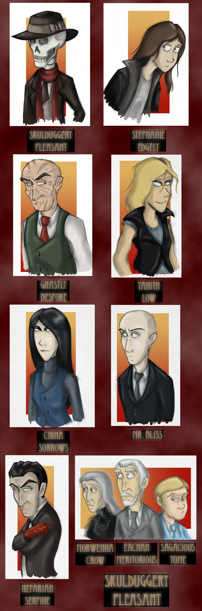 Fun Time clipart pleasant 1 about :D Skulduggery Pleasant