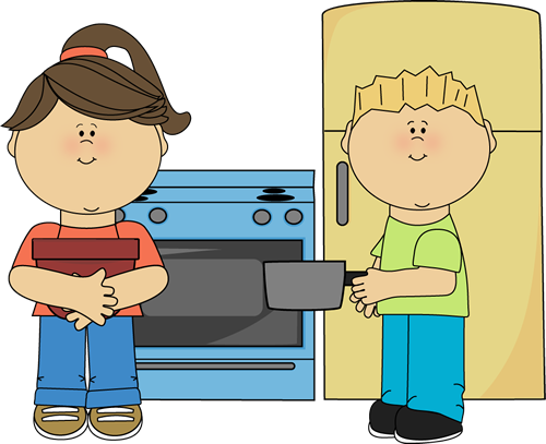 The Kitchen clipart kitchen stove Time recipes together in Family
