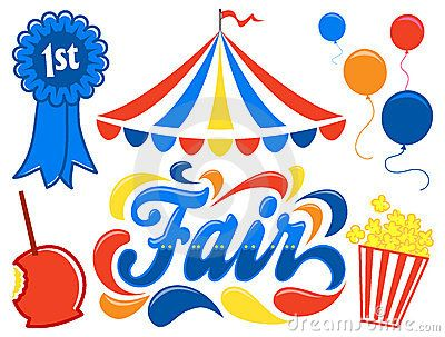 Tent clipart carnival ride Best fair on county time
