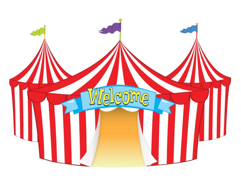 Carnival clipart summer fair Tent Clipart Funfair Clipart Welcome_tent