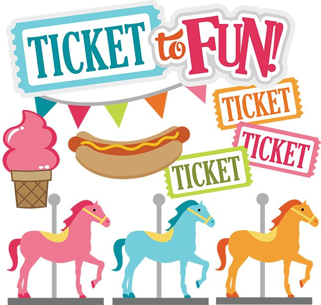 Ride clipart country fair SVG images Ticket park carnival