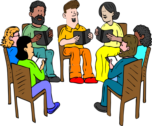 Meeting clipart transparent Gathering Art Free Art Clip