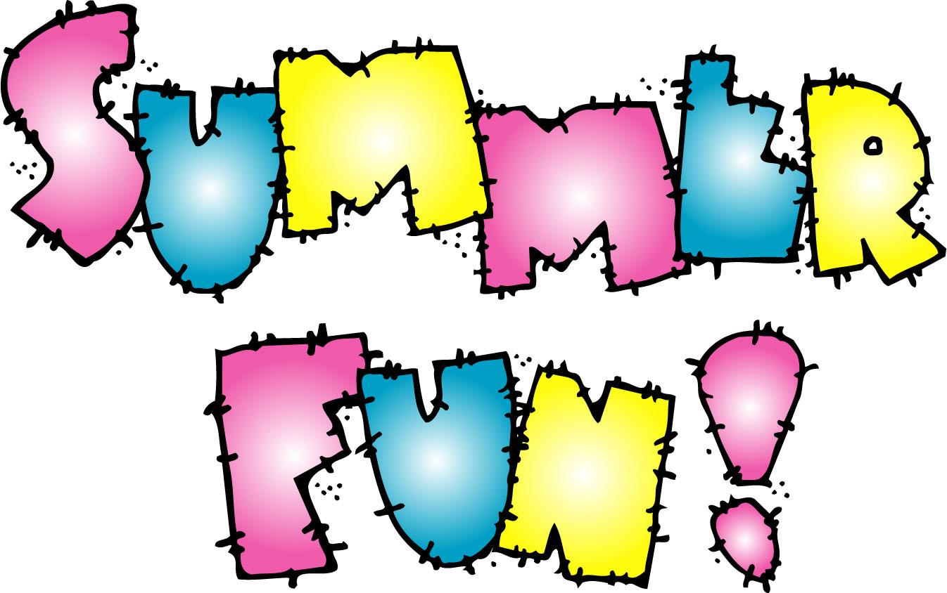 Fun Time clipart the word Art Summer Fun Clipart Clip