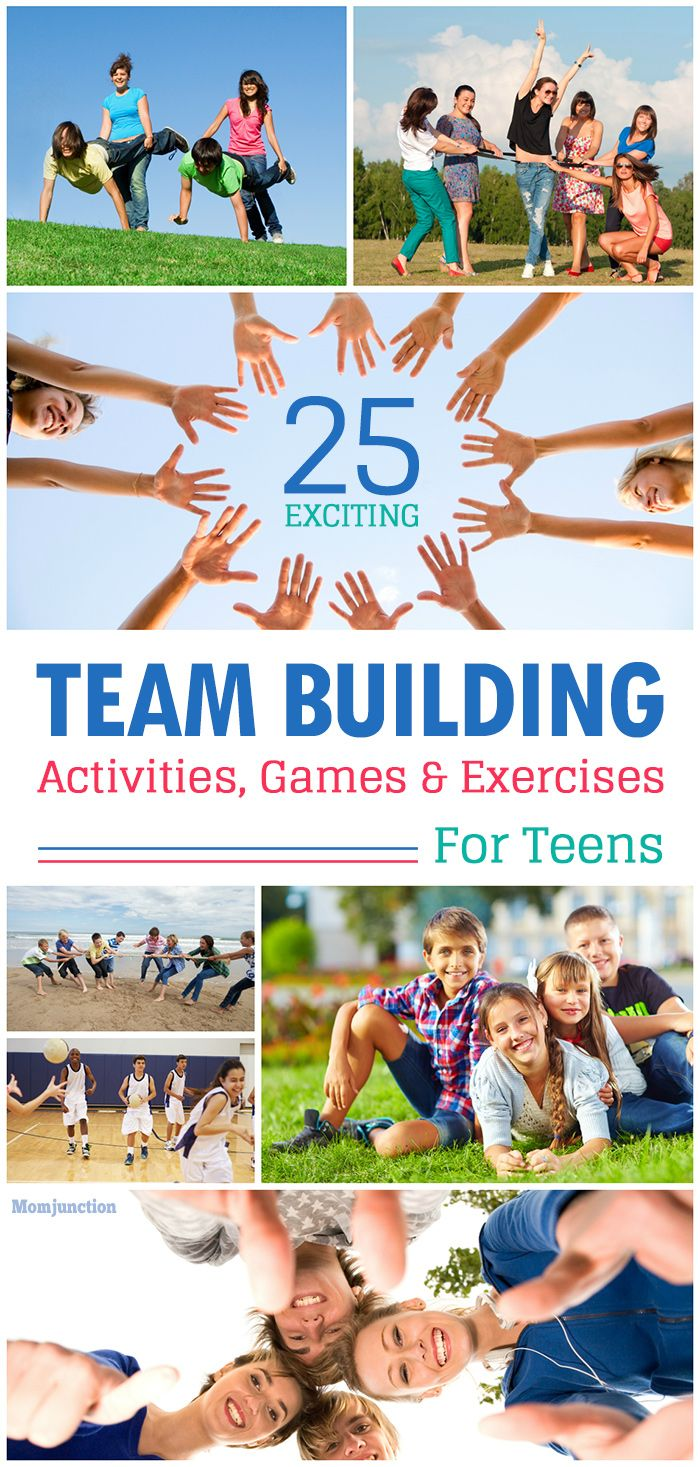Fun Time clipart working together Images best Teens:Games Building Activities
