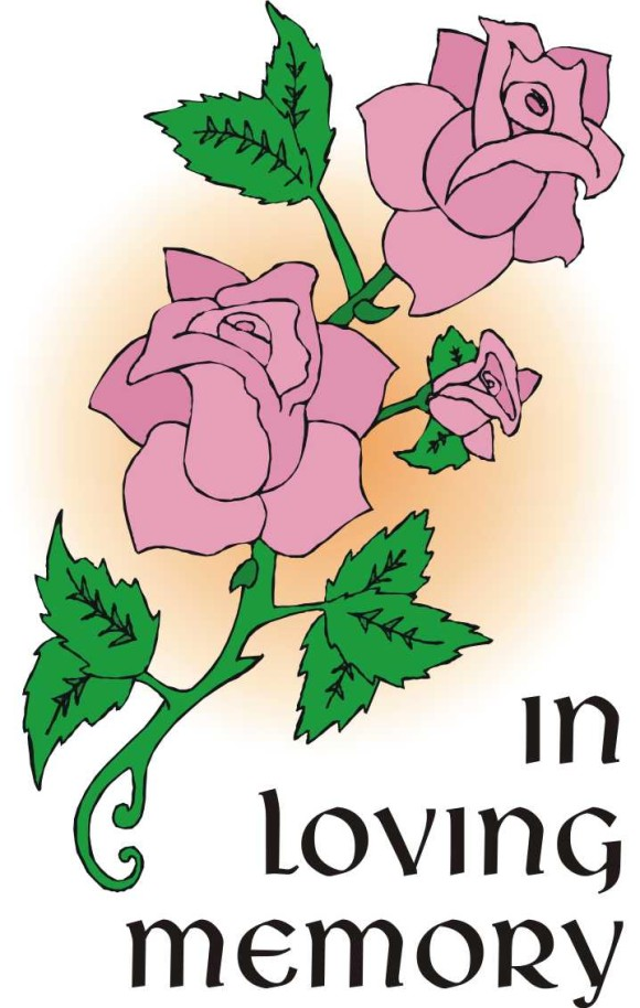 Rose clipart sympathy flower #9