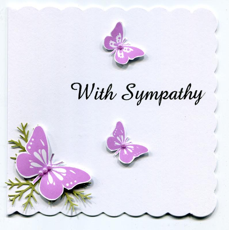 Carnation clipart sympathy A Sympathy 54 Art card