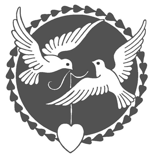 Turtle Dove clipart funeral dove #8