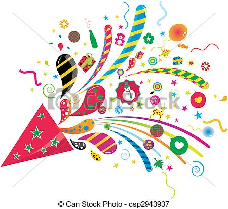 Funky clipart Funky party party Illustration funky