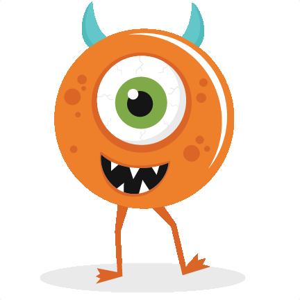 Monster clipart halloween monster #15