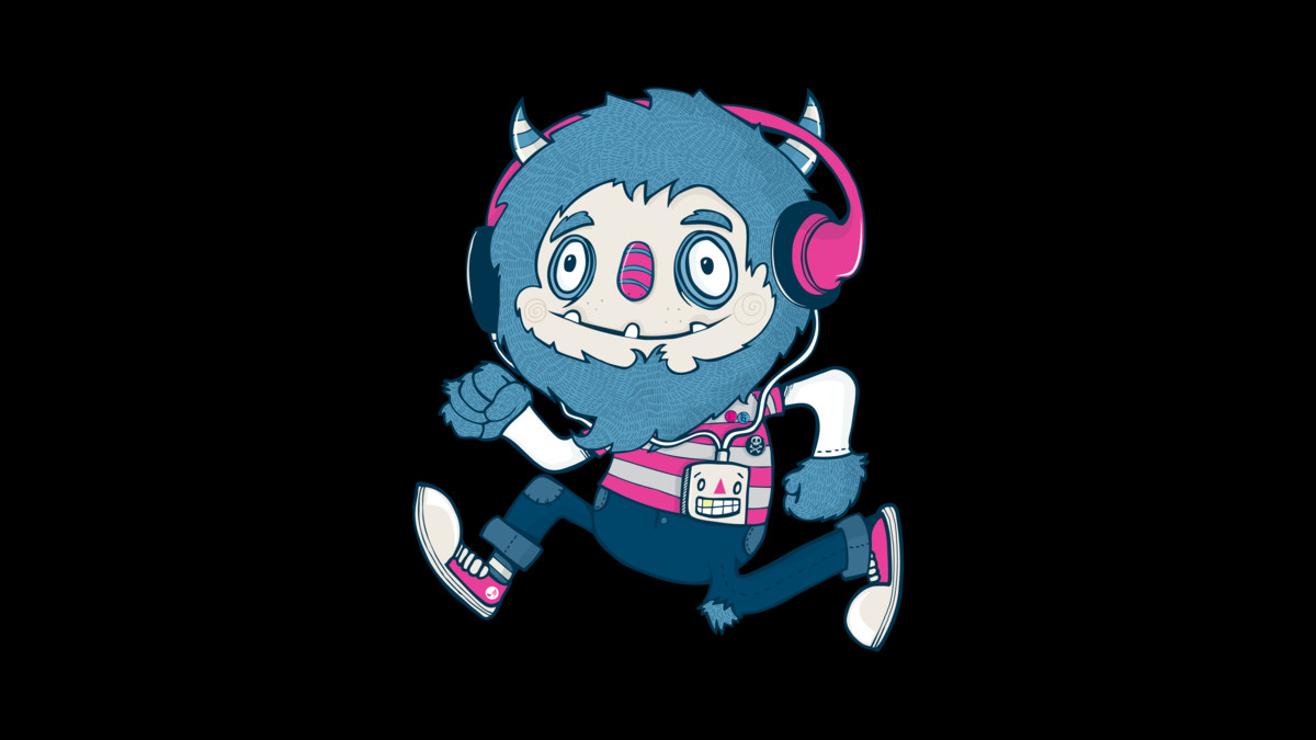 Beats clipart funky Funky Monster T Humans Design