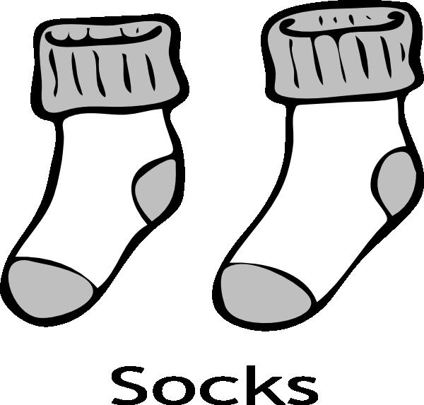Pair clipart sock Sock clipart art clipart