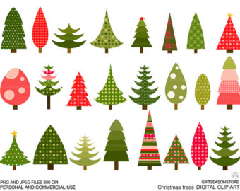 Christmas Tree clipart funky Tree Clipart Christmas Tree Funky