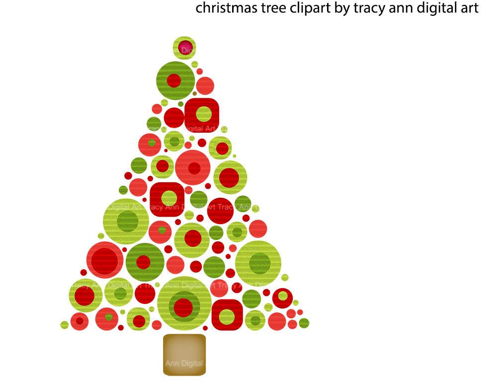 Christmas Tree clipart funky Free Clip Century Art Mid