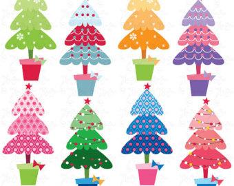 Christmas Tree clipart funky Christmas Christmas Christmas PATTERN