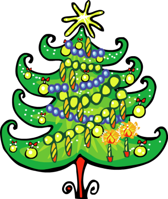 Christmas Tree clipart funky Images Panda Clipart Clipart Free