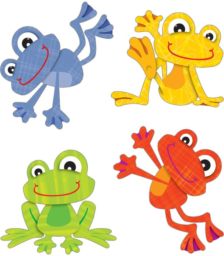 Tree Frog clipart colorful frog #15