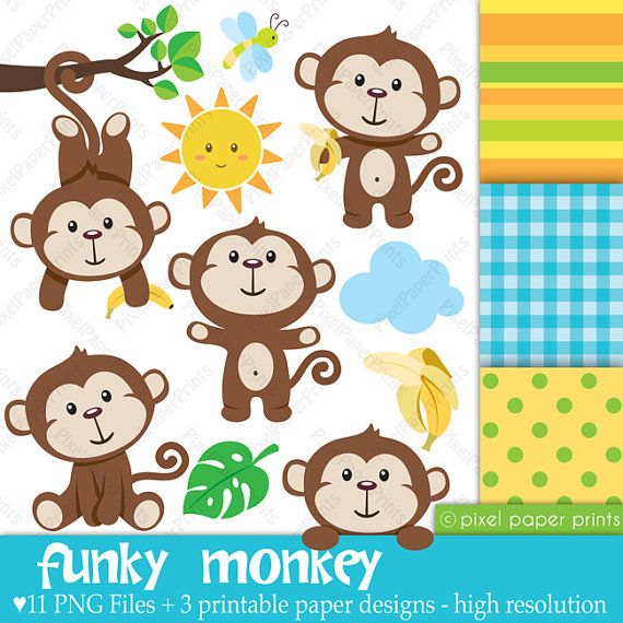 Iiii clipart little monkey About 00 pixelpaperprints Clip and