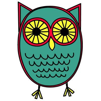 Owl clipart rain Twitter Art Owl (@FunkyOwlArt) Studio