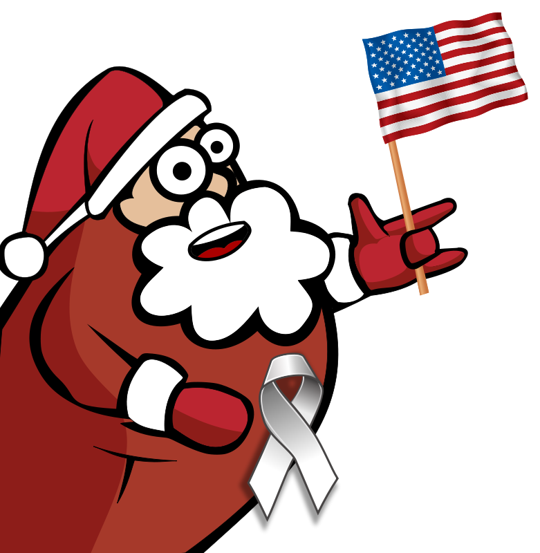 American Flag clipart christmas Clipart – clipart funny Download