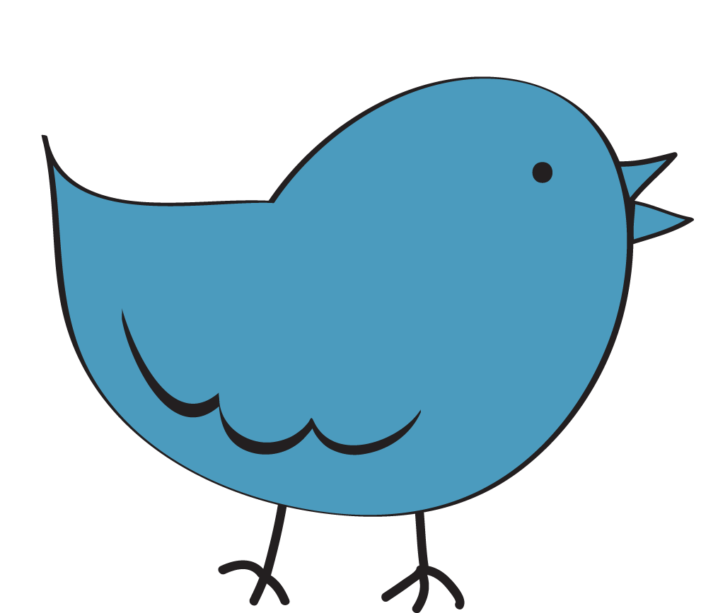 Bird clipart line art Free Clipart Background Clipart Images