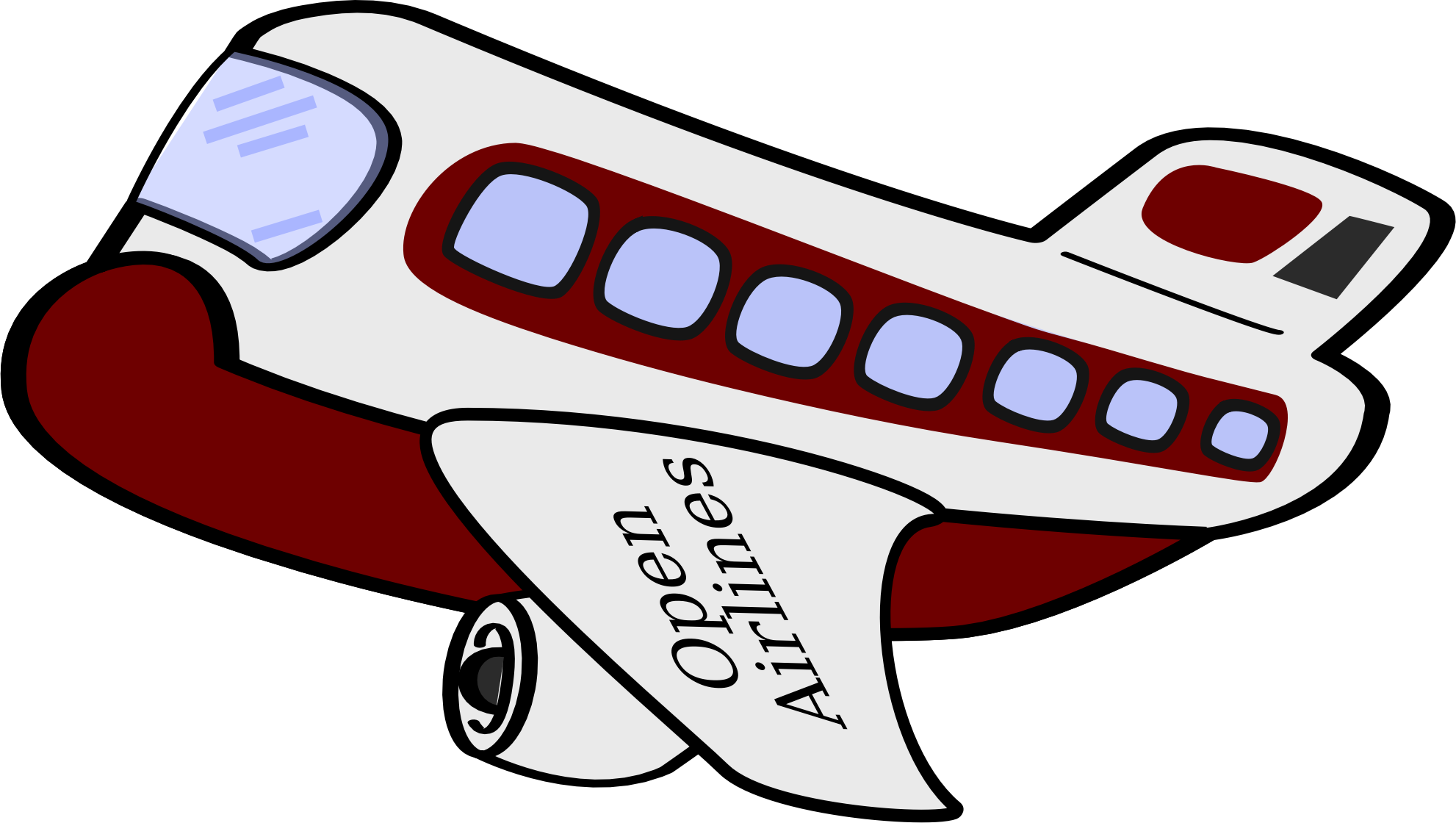 Airplane clipart funny Funny airplane airplane Clipart funny