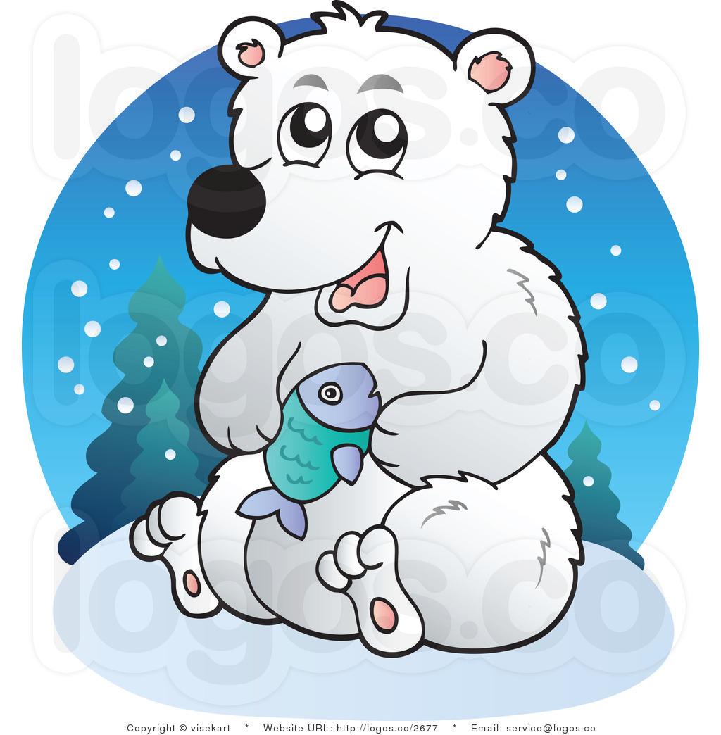 Cartoon clipart polar bear Clip Panda White Clip Black