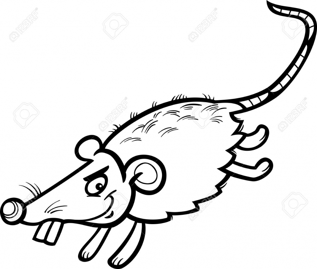 Rat clipart funny #7