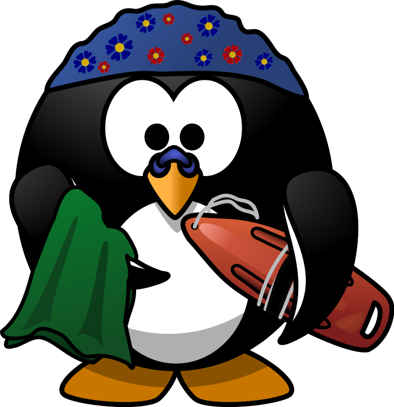 Penguin clipart silly Swimming Funny Swimming Funny Clipart
