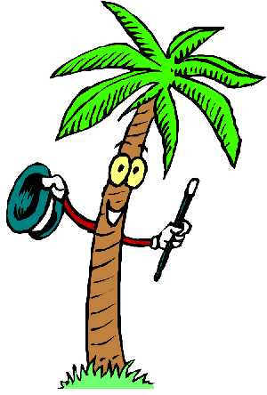 Palm Tree clipart face Funny clipart WikiClipArt Palm tree