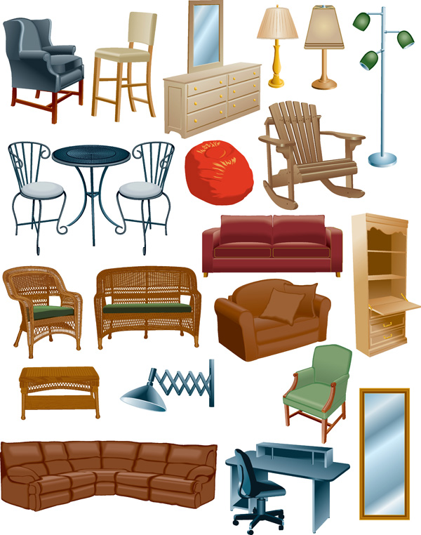Furniture clipart Of Collection #FurnitureClipart png clipart