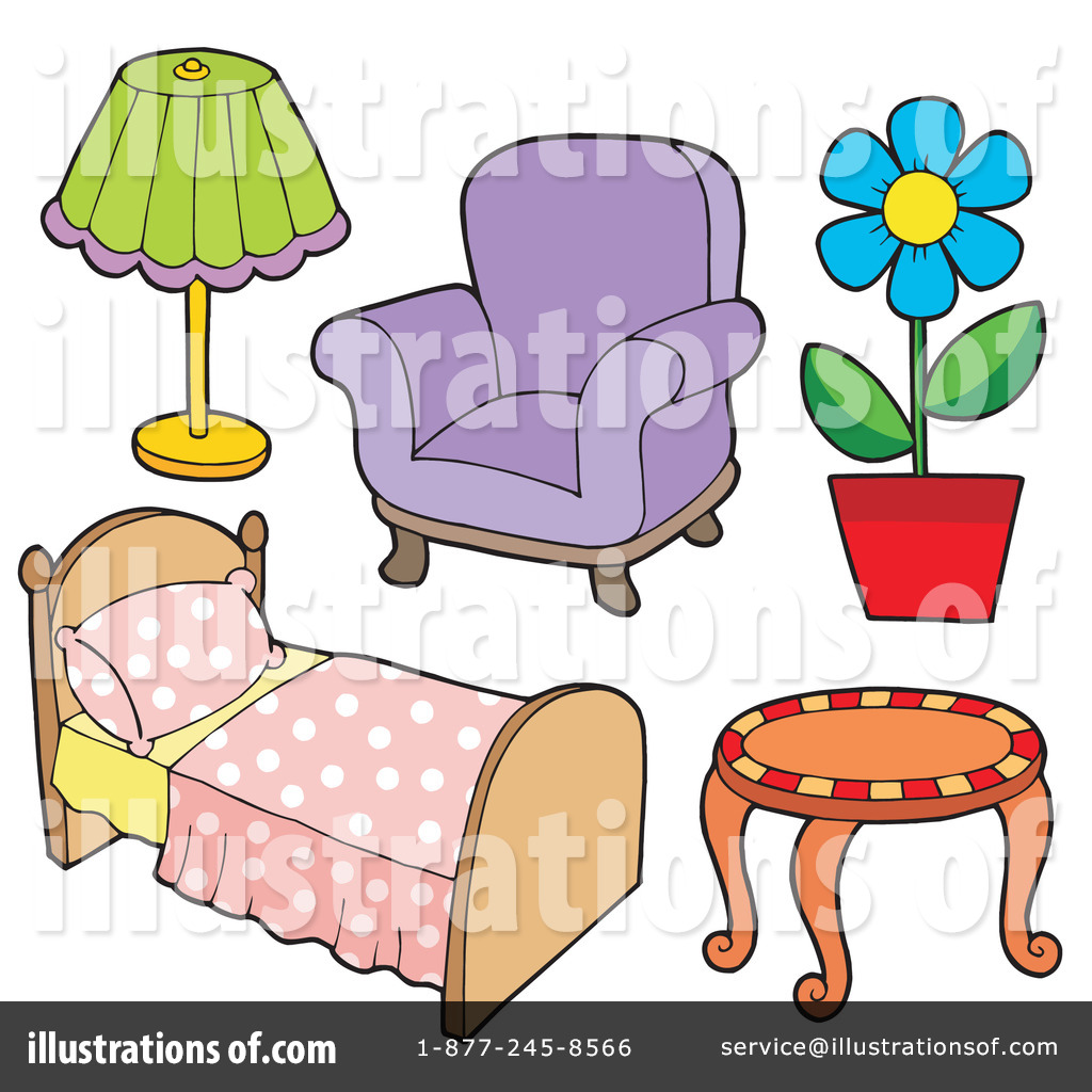 Furniture clipart Visekart Furniture #213543 by Illustration