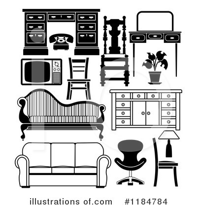 Furniture clipart Illustration by #1184784 #1184784 by