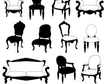 Furniture clipart Art Clip Furniture Clip Furniture