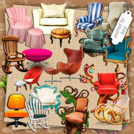 Furniture clipart beautifull And download Chairs free Clipart