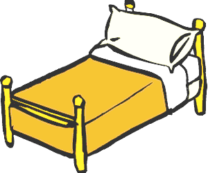 Furniture clipart beautifull Bed 2 clipart Kid collection