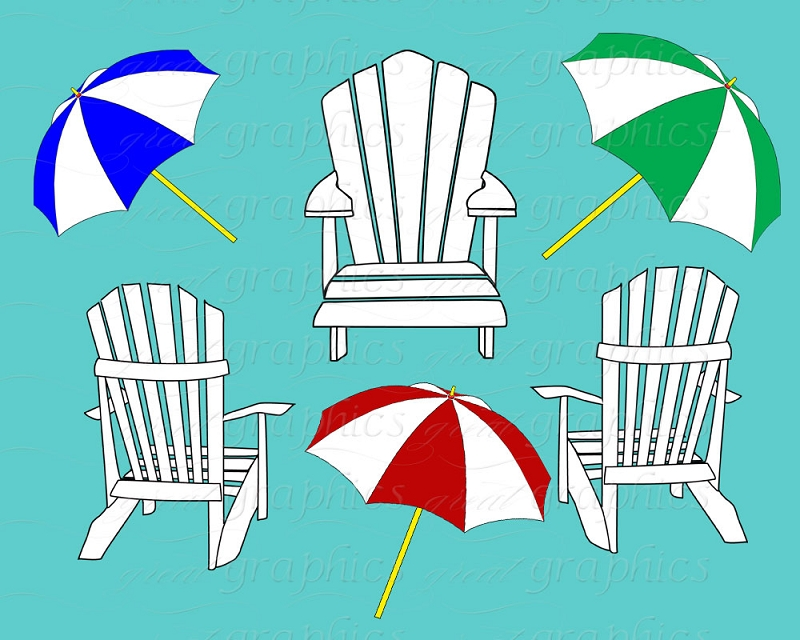 Furniture clipart beautifull Chairs Chair Beautiful Adirondack Adirondack